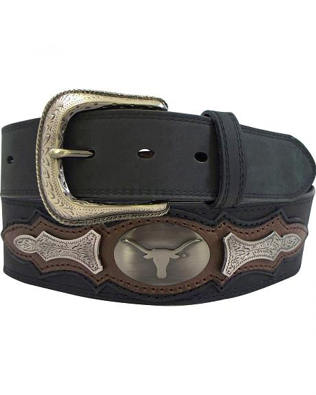 University of Texas Concho Overlay College Belt