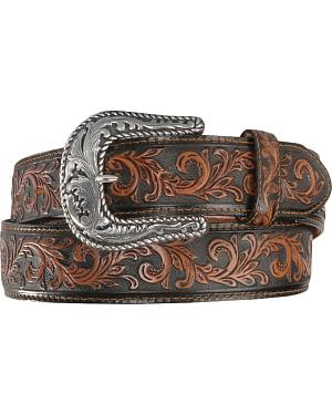 Tony Lama Scottsdale Classic Tooled Western Belt
