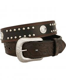 Exclusive Gibson Trading Co. Two-Tone Concho Belt