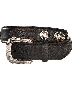 Exclusive Gibson Trading Co. Concho Belt