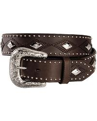 Exclusive Gibson Trading Co. Studs & Overlay Belt at Sheplers