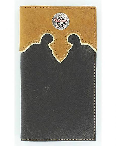 PBR Concho Leather Wallet