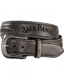 Jack Daniel's Vintage Finish Western Belt
