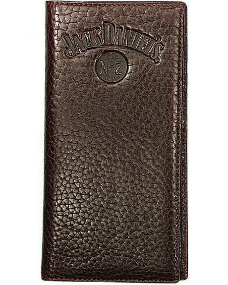 Jack Daniel's Rodeo Style Leather Wallet