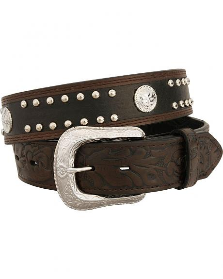 Exclusive Gibson Trading Co. Two-Tone Concho Belt - Big