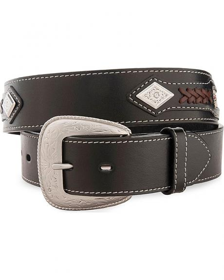 Lacing & Concho Western Belt