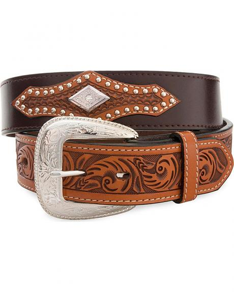 Tooled Trim Western Belt
