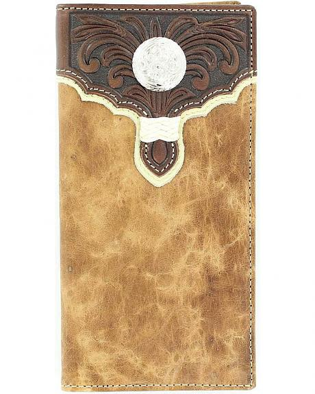 Tony Lama Scroll & Concho Rodeo Checkbook