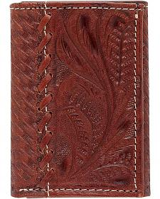 American West Whipstitch Tri-Fold Wallet
