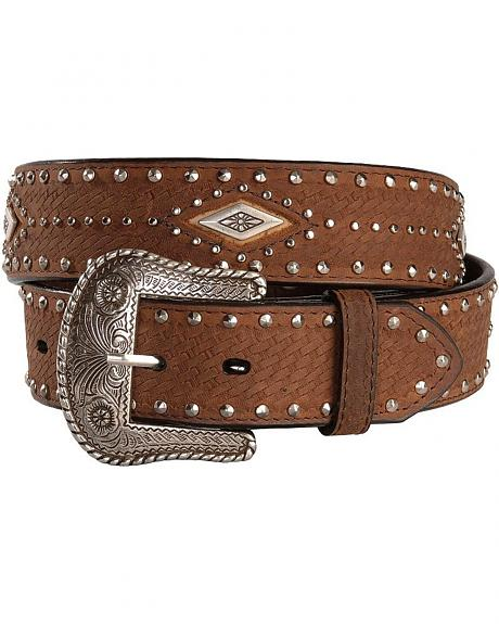 Nocona Diamond Concho Belt