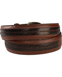Nocona Contrasting Leather Laced Belt at Sheplers
