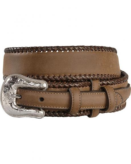 Hired Hand Leather Laced Ranger Belt