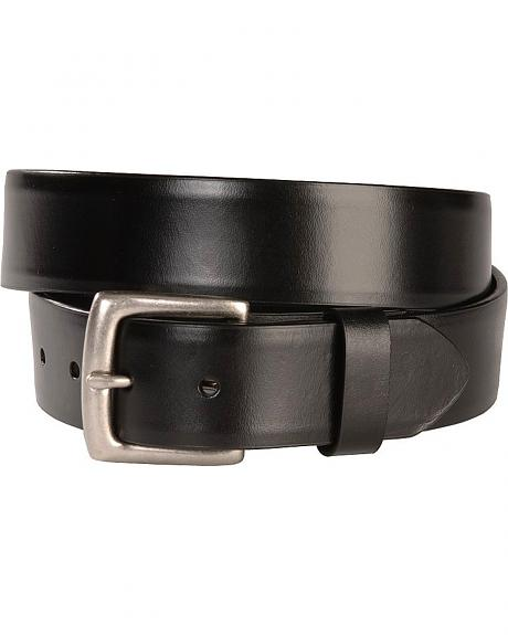 Basic Black Leather Belt