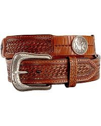 Jack Daniel's Basketweave Belt at Sheplers