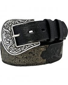 Stetson Crackle & Tooled Belt