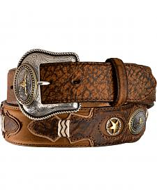 Tony Lama Western Pride Leather Belt