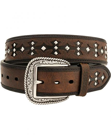 Ariat Tombstone Brown Oiled Rowdy Belt