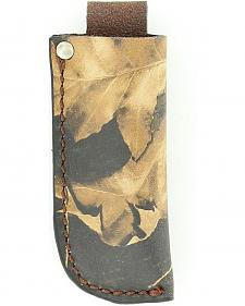 Nocona Mossy Oak Leather Knife Sheath