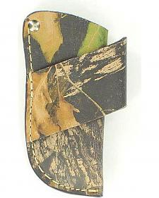 Nocona Mossy Oak Leather Horizontal Knife Sheath