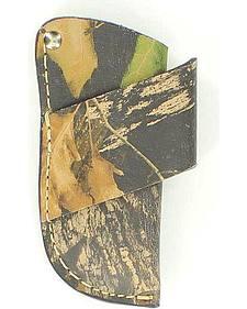 Nocona Mossy Oak Leather Horizontal Knife Sheath