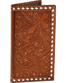 Nocona Embossed Whipstitch Rodeo Wallet
