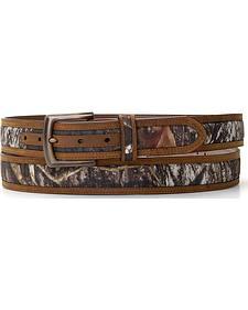 Nocona Mossy Oak Camo Belt