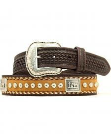 Nocona Cowboy Prayer Concho Western Belt