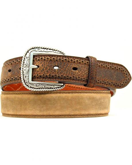 Ariat Smooth & Distressed Leather Belt