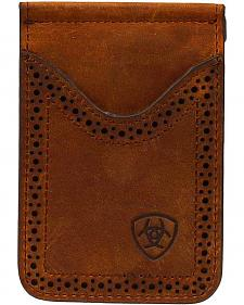 Ariat Leather Money Clip