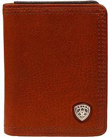 Ariat Logo Concho Bi-Fold Wallet
