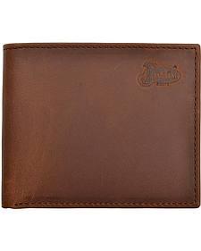 Justin Distressed Leather Bi-fold Wallet