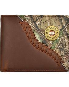 Justin Camo Overlay & Shotgun Shell Concho Bi-fold Wallet