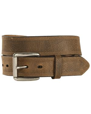 Ariat Aged Bark Basic Leather Belt