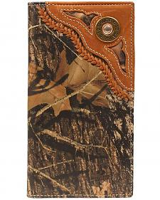 Nocona Camo Shotgun Shell Rodeo Wallet