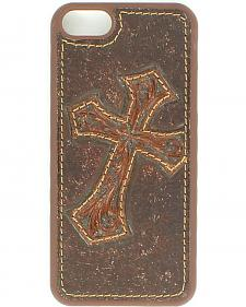 Nocona Diagonal Cross Leather iPhone 5 Phone Case