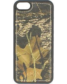 Nocona Mossy Oak Leather iPhone 5 Phone Case