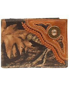 Nocona Mossy Oak 12 Gauge Shell Bi-Fold Wallet