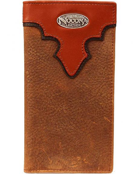 Nocona Copper Grizzly Rodeo Wallet