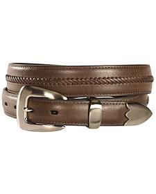 Nocona Leather Stitched Belt