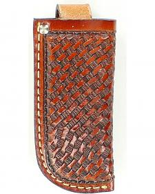 Nocona Basketweave Knife Sheath