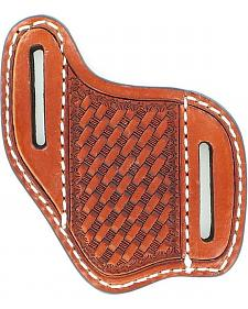 Nocona Basketweave Diagonal Knife Sheath