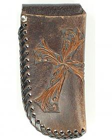 Nocona Diagonal Cross Large Knife Sheath