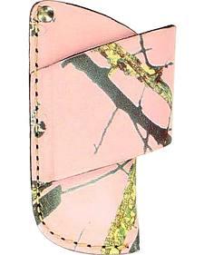 Nocona Pink Mossy Oak Small Horizontal Knife Sheath