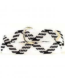 "Double S 46"" Braided Belt"
