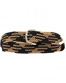 "Double S 52"" Braided Belt"