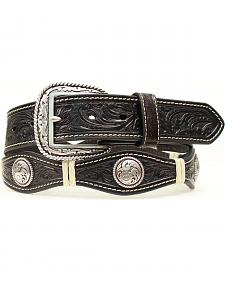 Ariat Scalloped & Tooled Concho Belt