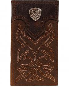 Ariat Boot Stitched Rodeo Wallet