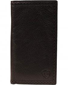 Ariat Peforated Edge Rodeo Wallet