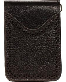 Ariat Card Case Clip Wallet