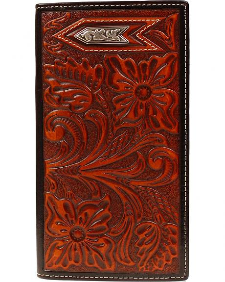 Ariat Tooled Arrow Concho Rodeo Wallet